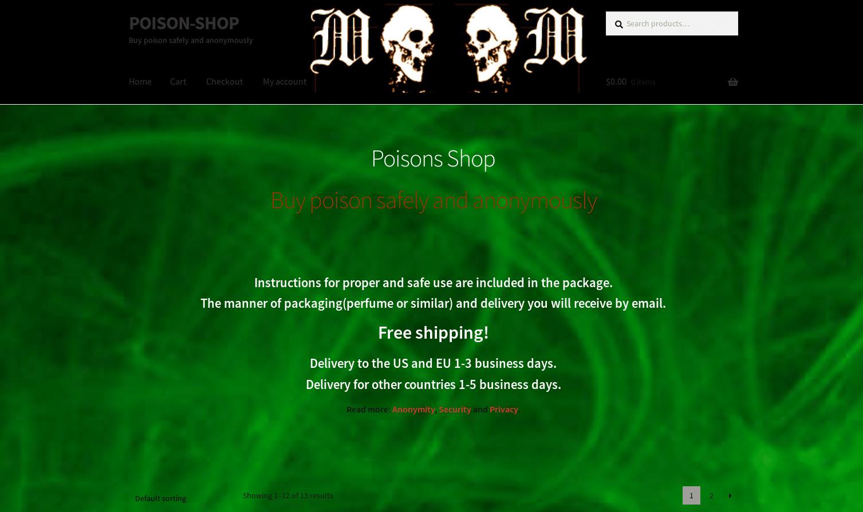 La boutique individuelle The Poison Shop