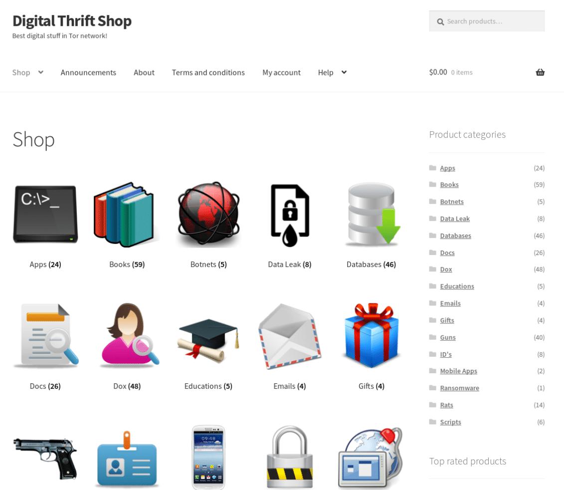 Digital Thrift Shop